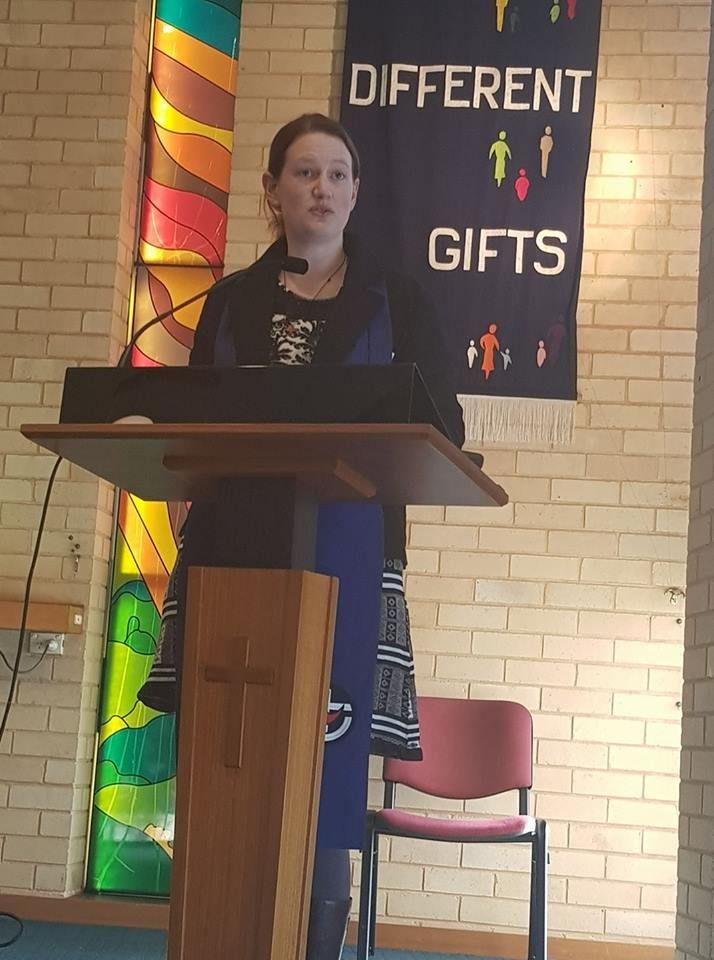 Pastor Emma Parr