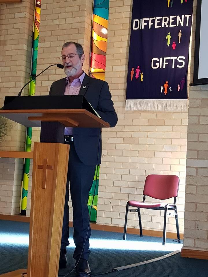 Pastor Stuart McMillan